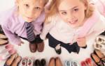 Детская обувь размеры сша