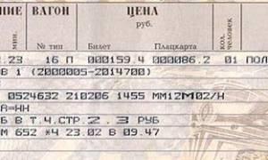 Правила покупки жд билетов в россии